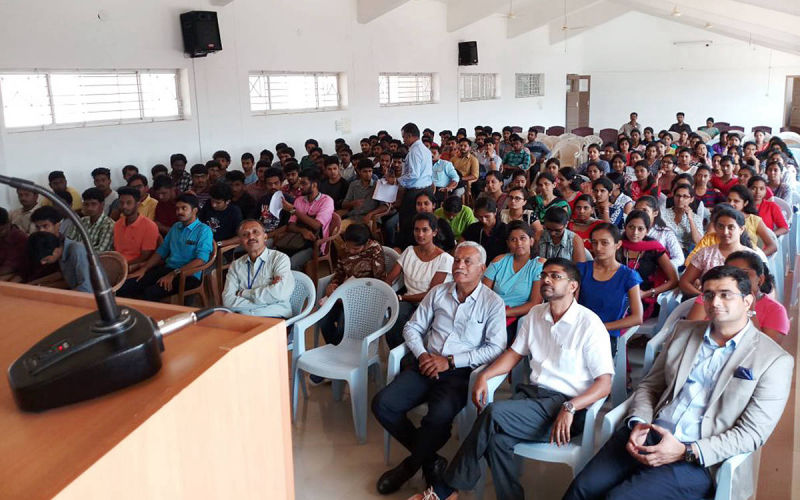 Career Awareness Program at CIT Ponnampet.